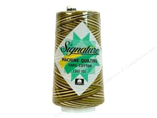 Signature 100% Cotton Thread 3000 yd. Variegated Corn Field