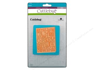 "Best of 2012 ABC & 123: Provo Cuttlebug Emboss 5""X 7"" Typeset"