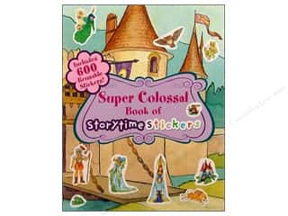 Clearance Blumenthal Favorite Findings: Super Colossal Storytime Stickers Book