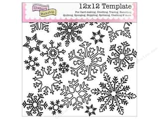 The Crafters Workshop Template 12x12 Flurries