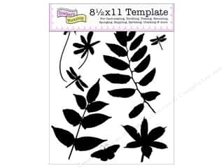 The Crafter's Template 8.5 x 11 in. Botanicals