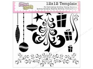 The Crafters Workshop Template 12x12 Merry Doodles