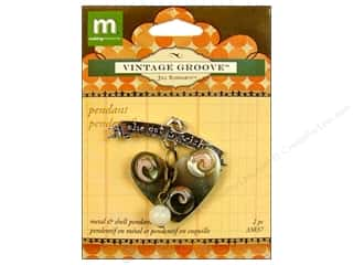 clearance Making Memories Pendant: Making Memories Pendant VG 3 Wishes Heart