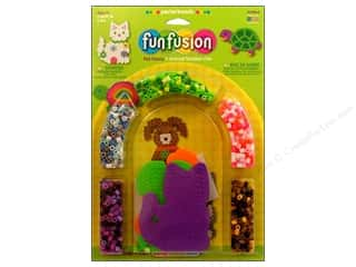 Funfusion Kid Crafts: Perler Fused Bead Kit Pet Fancy