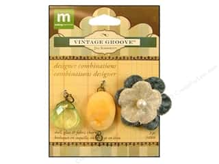 Making Memories Charm VG Combo Silk Flower