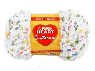 weekly specials buttercup: Red Heart Buttercup Yarn #4271 White Multi