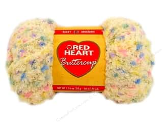 Multi Colored Yarn: Red Heart Buttercup Yarn #4273 Light Yellow Multi