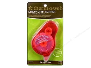 Therm O Web Runner Sticky Strip Permanent 34ft
