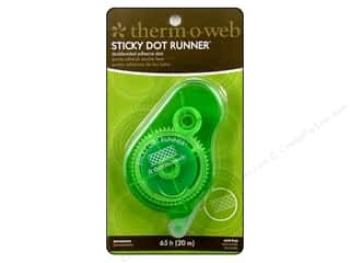 Therm O Web Runner Sticky Dot Permanent 65ft