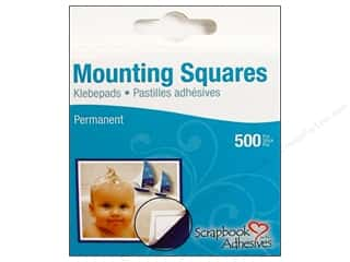 3L Scrapbook Adhesives Mounting Squares 500 pc. White