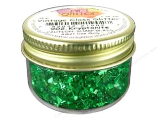 Clearance: Art Institute Glitter 1oz Glass Shards Kryptonite