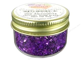 Clearance: Art Institute Glitter 1oz Glass Shards Alexandrite