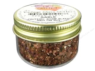 Clearance: Art Institute Glitter 1oz Glass Shards Sable