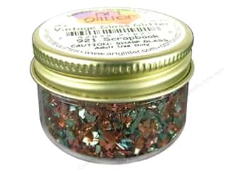 Clearance Art Institute Fine Glass Glitter 1oz: Art Institute Glitter Shards Glass Glitter 1 oz. Scrapbook