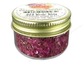 Art Institute Glitter 1oz Glass Shards Briar Rose