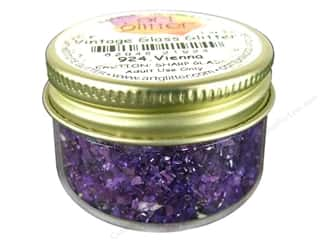 Clearance: Art Institute Glitter 1oz Glass Shards Vienna