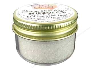 Fine Vintage Glass Glitter Diamond Dust 1 oz.