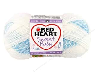 C&amp;C Red Heart Sweet Baby Yarn 3.5oz Swimmie