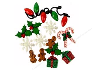Holiday Sale: Jesse James Embellishments Theme Christmas