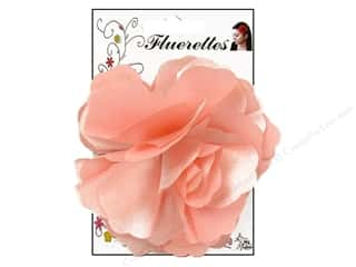 Mark Richards Fluerettes Flower Satin Pink