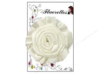 Mark Richards Sewing & Quilting: Mark Richards Fluerettes Flower Rose White