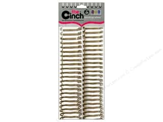 "We R Memory The Cinch Binding Wire 1"" Gold"
