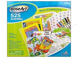 RoseArt Kit 525 Coloring Activities