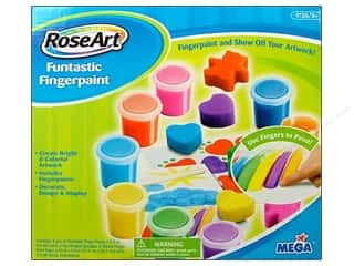 Craftoberfest: RoseArt Kit Funtastic Finger Paints