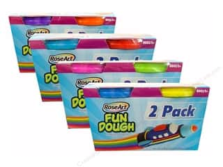 RoseArt Kit Fun Dough 5oz Assorted 2pc