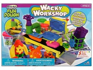 RoseArt Kit Wacky Workshop Fun Dough