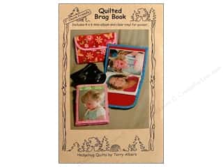 Quilted Brag Book Kit Pattern