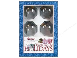 Darice Holiday Decor Glass Ball Ornaments 70mm 6pc