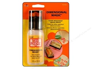 Finishes Glues, Adhesives & Tapes: Plaid Mod Podge Dimensional Magic 2 oz.