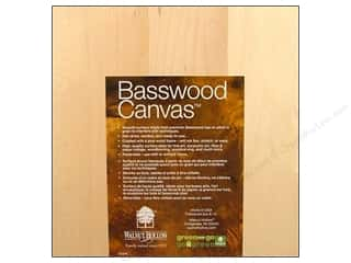 Walnut Hollow Basswood Canvas 8 x 8 in.