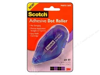 Scotch Adhesive Dot Roller Permanent 49' Blue