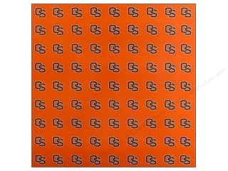 "Back To School Sports: Sports Solution Paper 12""x 12"" Oregon State Orange (25 sheets)"