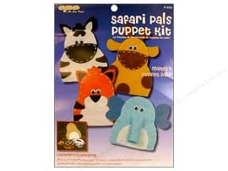 CPE Kits Puppet Activity Safari Pals 4pc