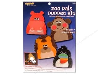 CPE Kits Puppet Activity Zoo Pals 4pc