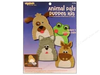 CPE Kits Puppet Activity Animal Pals 4pc