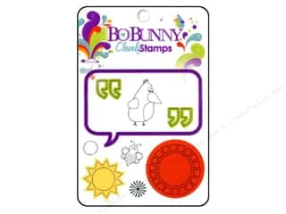 Clearance Blumenthal Favorite Findings: Bo Bunny Clearl Stamps Sun Kissed