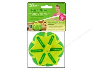 Pins Clearance: Clover Zieman Tools Sort N Store Pin Cushion Hand Sew Needle