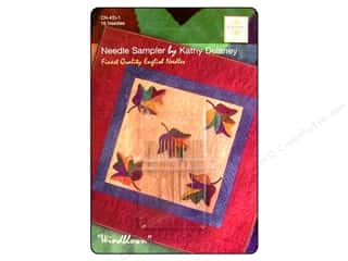 Colonial Needle Sewing Construction: Colonial Needle Hand Needle Quilt & Applique Sample 16pc