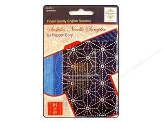 Colonial Needle Sewing Construction: Colonial Needle Hand Needle Sashiko Sampler Assorted 10pc