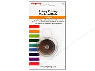 Stock Up Sale Rotary Blades: Simplicity Rotary Cutting Machine Straight