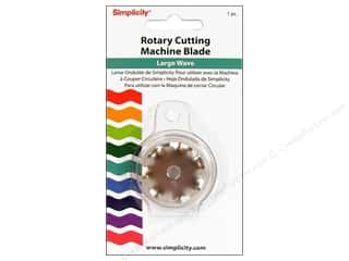 Stock Up Sale Rotary Blades: Simplicity Rotary Cutting Machine Large Wave