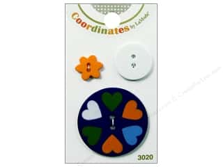 Clearance Blumenthal Button Coordinates: Blumenthal Button Coordinates Dutch Hearts 3pc