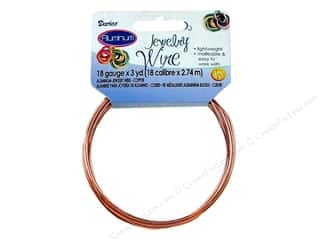Darice Jewelry Wire Aluminum 18Ga Copper 3yd
