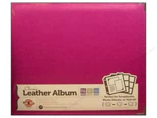 We R Memory Album 12x12 Leather Ring Plum