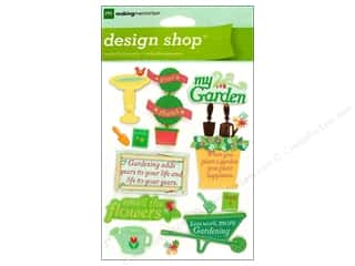 Making Memories Stickers Design Shop Gardening