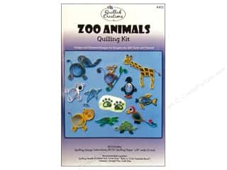 Quilling Animals: Quilled Creations Quilling Kit Zoo Animals